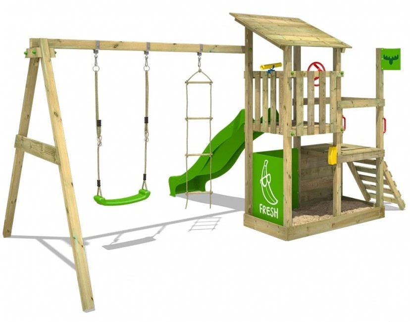Fatmoose Spielturm FruityForest Fun XXL