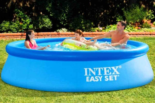 Intex Easy Set Quick-Up-Pool: günstiger Aufstellpool in 2 Größen