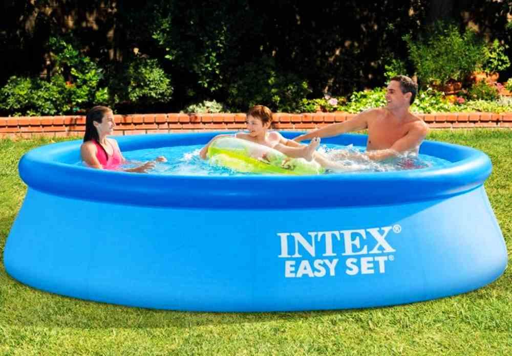 Intex Easy Set Quick-Up-Pool: günstiger Aufstellpool in 2 Größen
