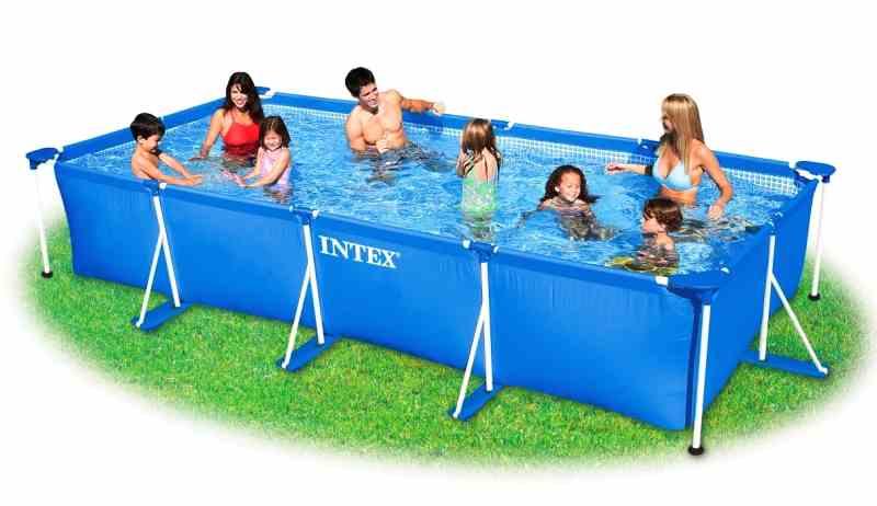 Intex Frame Pool Rechteckig
